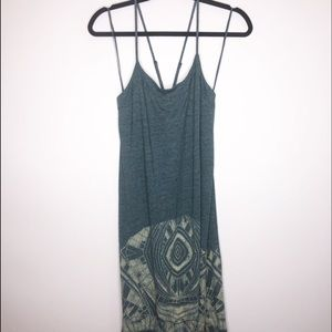 We The Free UO Maxi Dress Teal